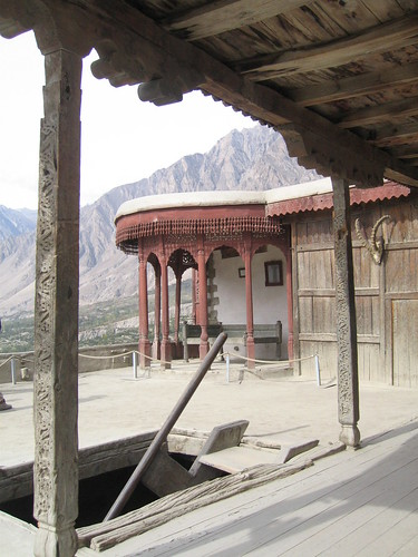 The Mir's throne room, Baltit Fort, Karimabad (2)