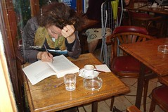 Café Nord-Sud - studying by Julie70