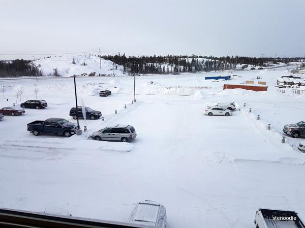 Chateau Nova Yellowknife Hotel window view