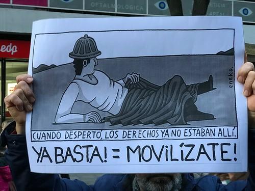 #PensionesDignas  #YoVoy17M #Bilbao