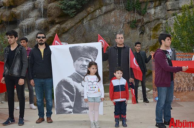 Türk Eğitim Sen Alanya Temsilciliği 18 Mart Çanakkale Zaferi Anısına Şehitlere Saygı Yürüyüşü -9