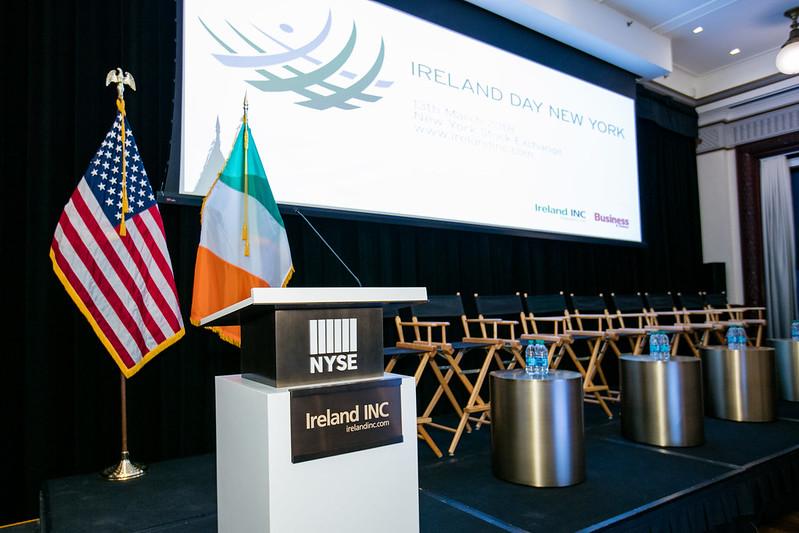 Ireland Day NYSE 2018