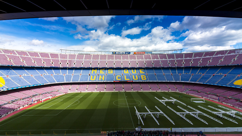 Camp Nou overview