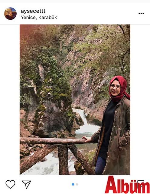 Ayşe Çetinkaya, Yenice, Karabük'te doğayla iç içe keyifli bir gün geçirdi.