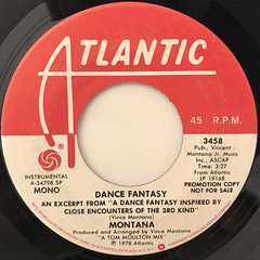 MONTANA:DANCE FANTASY(LABEL SIDE-B)