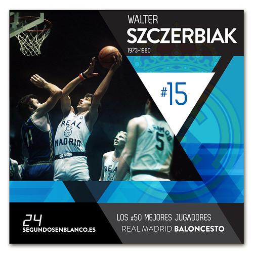 #15 WALTER SZCZERBIAK