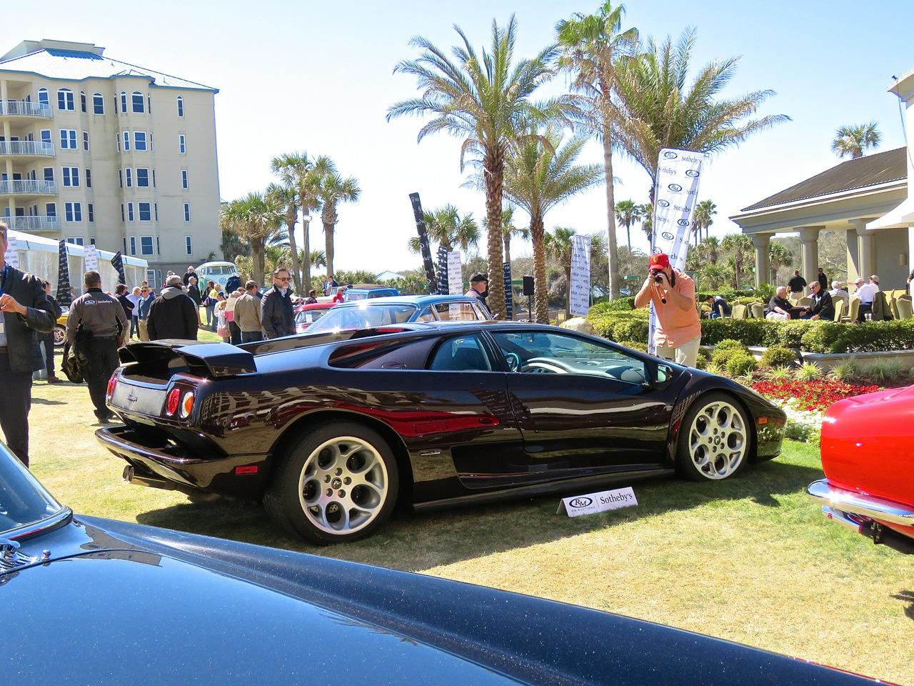 Brown Lamborghini Diablo 6.0 Amelia RM 13
