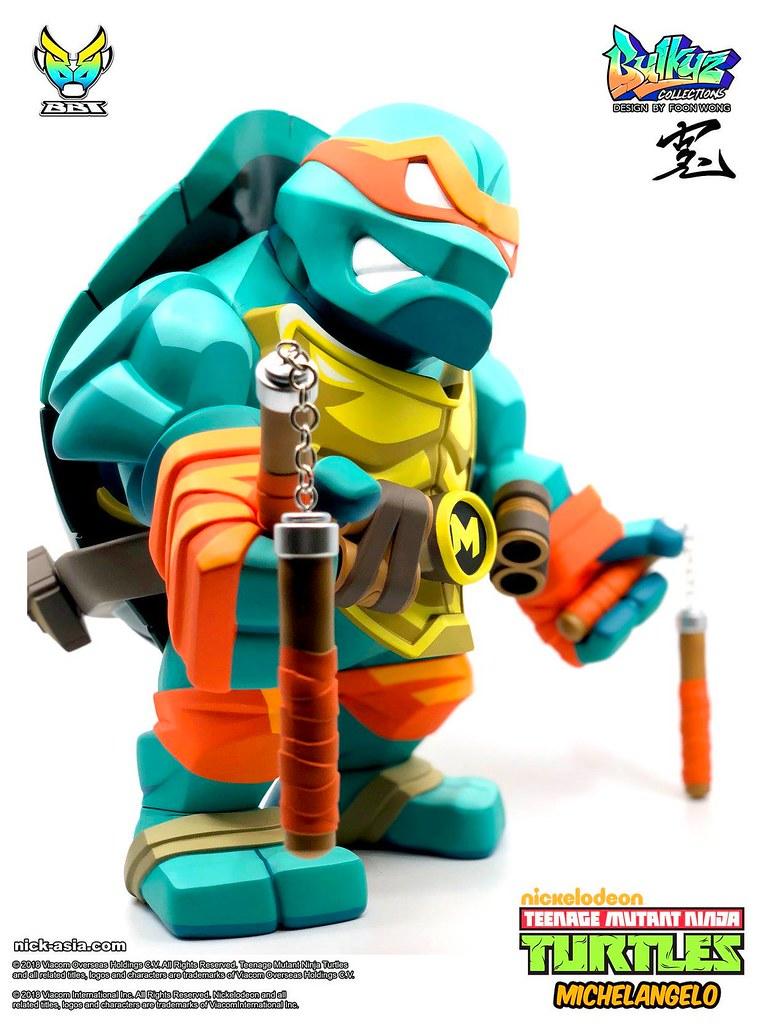 神龜四兄弟中的開心果!! BigBoyToys Bulkyz Collection 系列《忍者龜》米開朗基羅 Michelangelo 豪華版