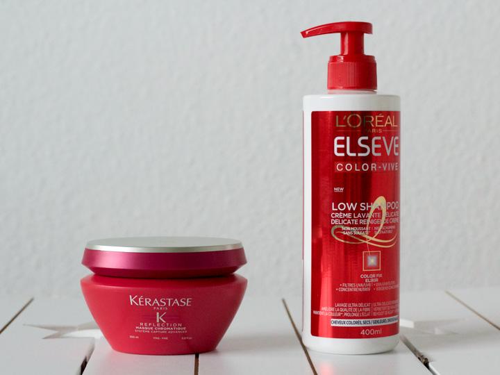 Kérastase Reflection Multi-Protecting Colouring Masker & L'Oréal Elseve Color-Vive Low Shampoo