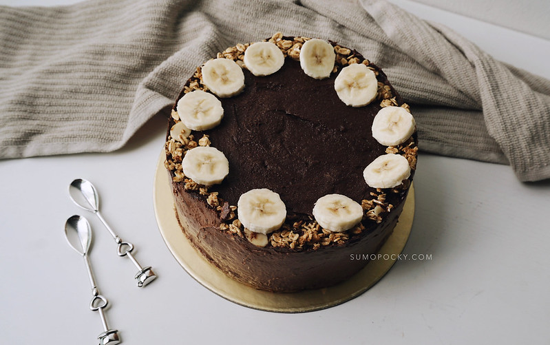 CHOCOLATE BANANA CHEESECAKE RECIPE