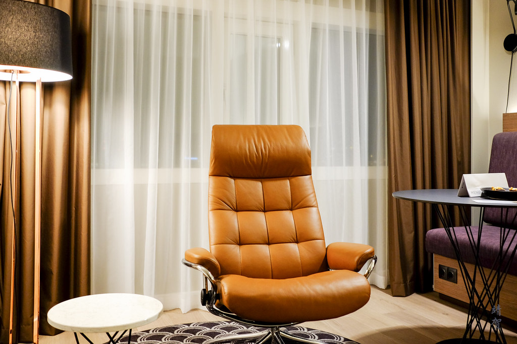 Armchair in the room