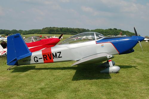 G-RVMZ Vans RV-8 (PFA 303-13395) Popham 080608