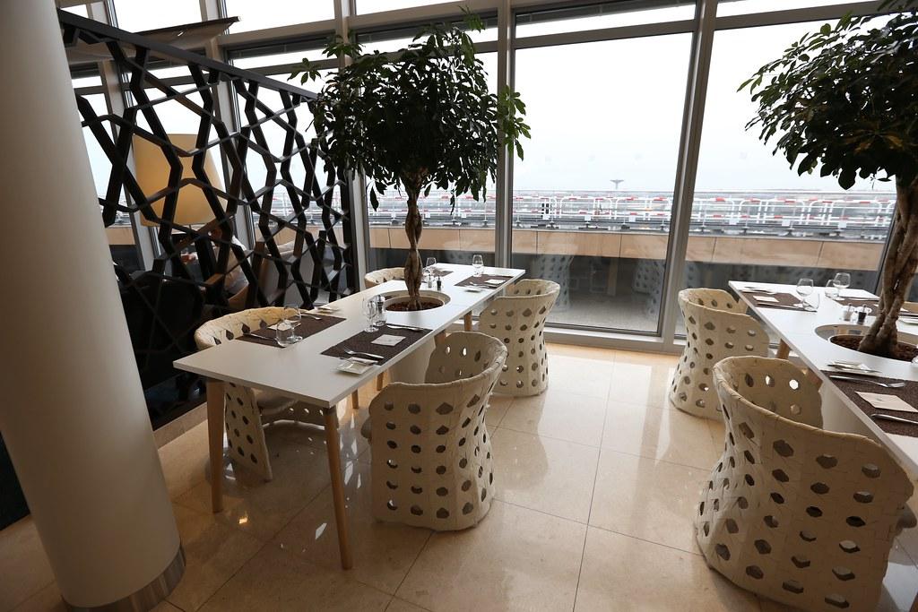Qatar lounge at Paris CDG 21