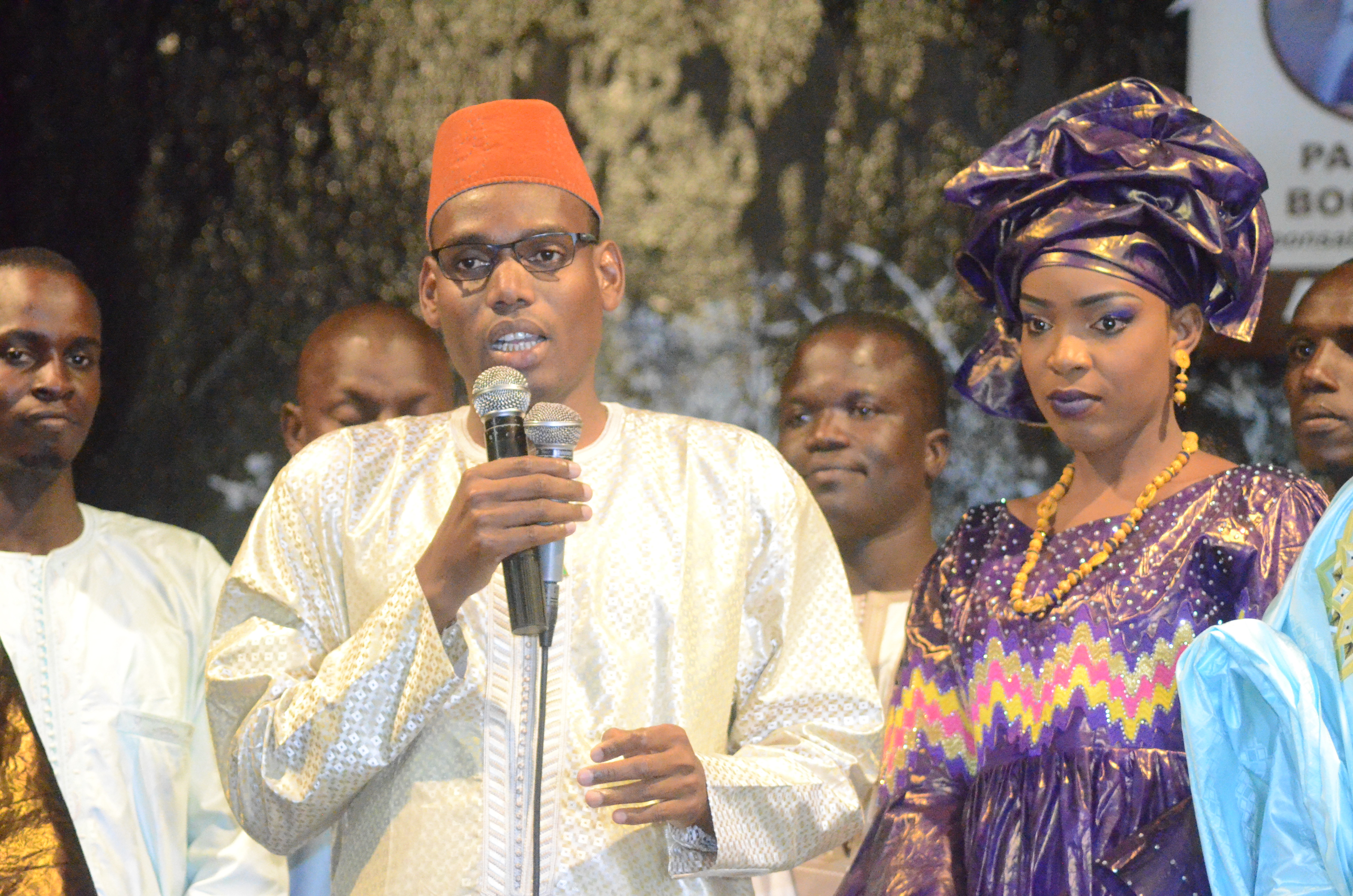 Première Edition soirée culturelle de l'Association Boyinadji Ma fierté de Bokidiawé, le parrain Bocar Abdoulaye Ly appelle à l'union des cœurs (51)