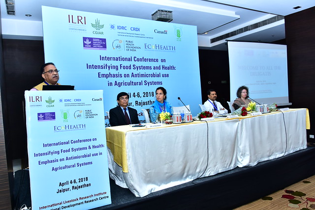 International Conference Intensifying Food Systems and Health: Emphasis on Antimicrobial Use in Agricultural Systems