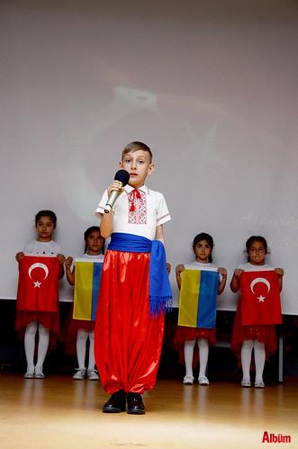 Alanya'da İstiklal Marşı'nı okumak için yarıştılar-4