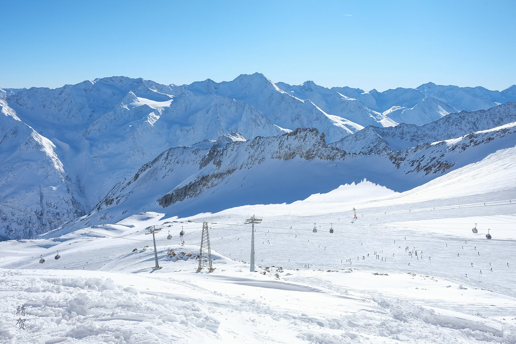 Tiefenbach Glacier piste