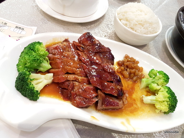 Barbecued Pork with Steamed Ric