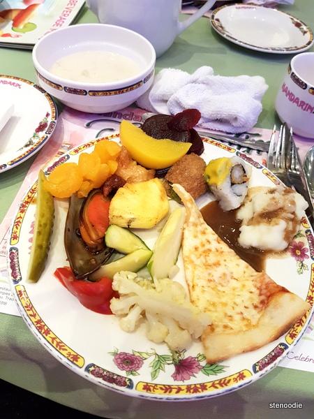 Mandarin dinner plates
