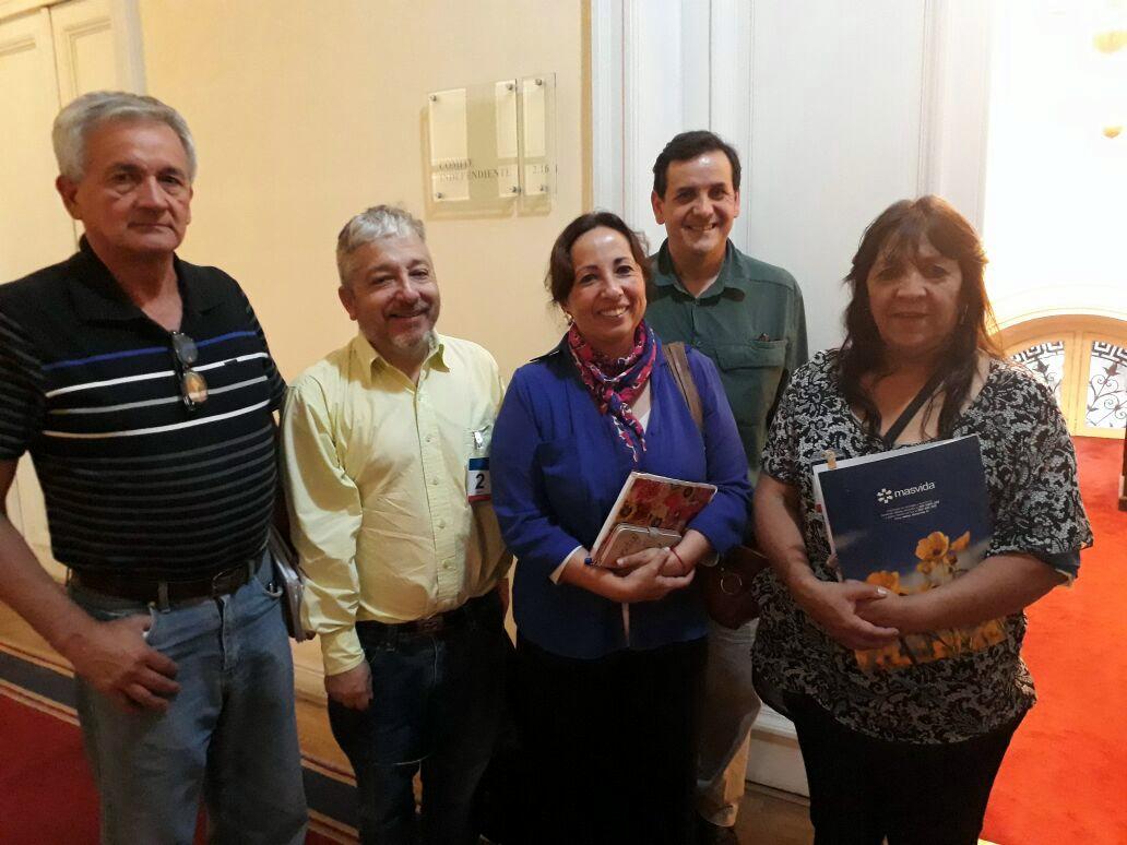AFSAG Nacional se reúne con diputada Alejandra Sepúlveda - 16 Abril 2018