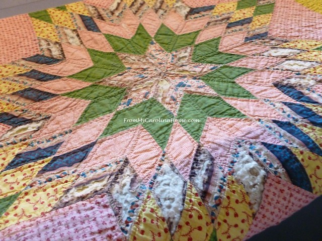 Tulle Quilt Repair at From My Carolina Home
