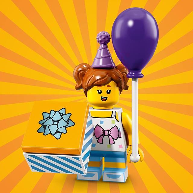 Lego Birthday Party Boy Série 18 pièces jambes torse tête cheveux Ballon Boîte Cadeau