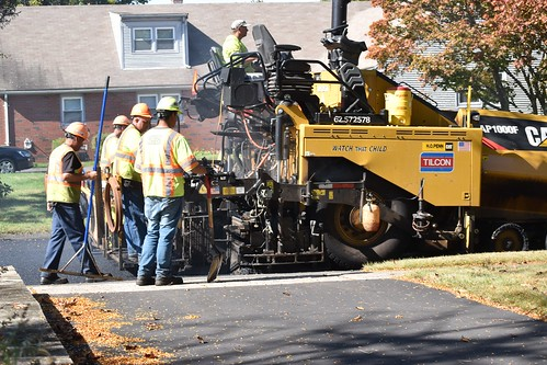 Repaving Carriage Hill Drive