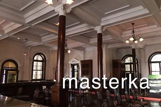 長崎市旧香港上海銀行長崎支店記念館の中