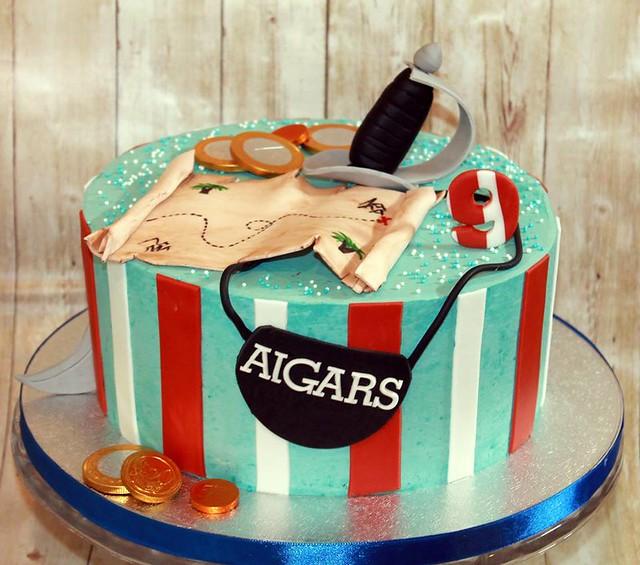 Birthday Cake by Elena's Cakes Ardee