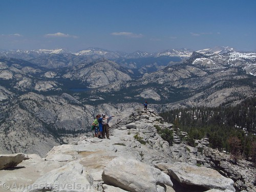 Views from Clouds Rest, Yosemite National Park, California