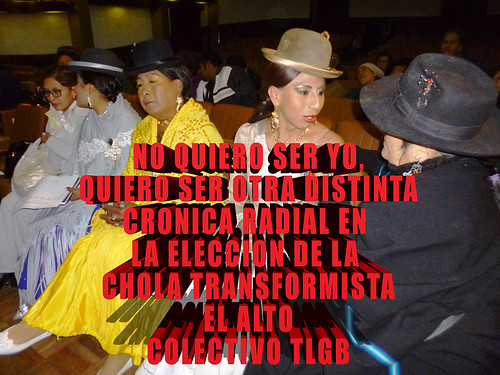 Crónica Miss Cholita Trans