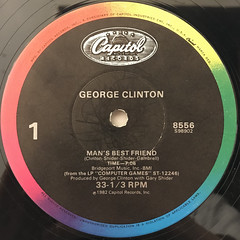 GEORGE CLINTON:MAN'S BEST FRIEND(LABEL SIDE-A)