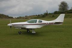 G-BSRI Neico Lancair 235 (PFA 191-11467) Popham 030510