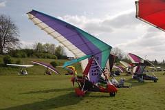G-MYSB Solar Wings Pegasus [6809] Popham 020509