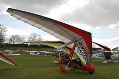 G-MZGK Solar Wings Pegasus [7331] Popham 020509