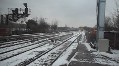 snowy trains of the uk