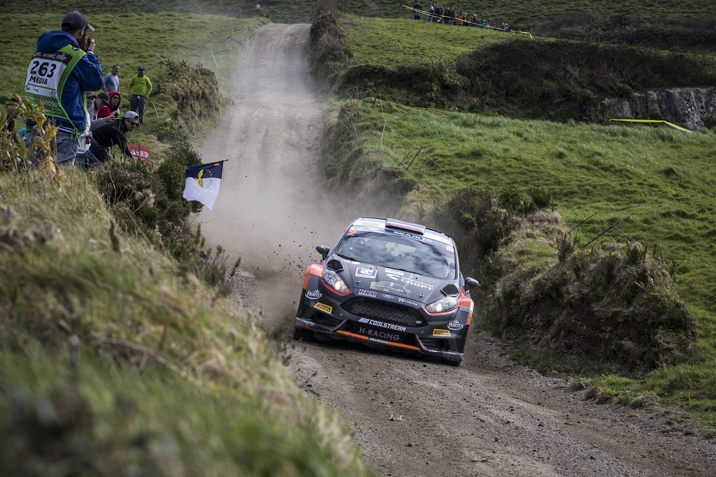 02 LUKYANUK Alexey (rus), ARNAUTOV Alexey (rus), Russian Performance Motorsport, FORD FIESTA R5, action during the 2018 European Rally Championship ERC Azores rally,  from March 22 to 24, at Ponta Delgada Portugal - Photo Gregory Lenormand / DPPI