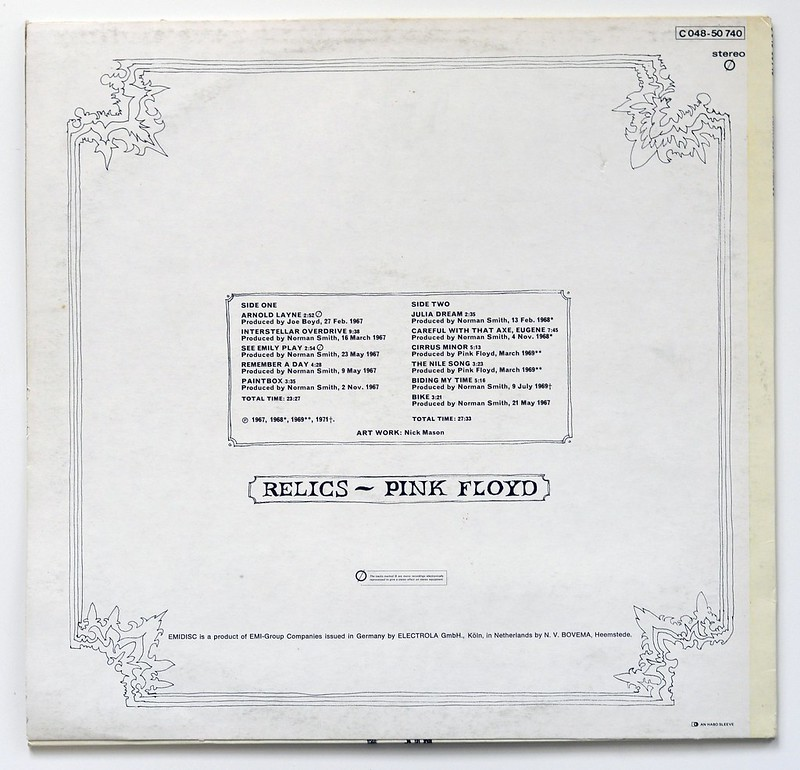 A0483 PINK FLOYD - Relics