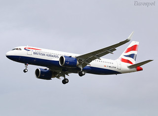 F-WWIV Airbus A320 Neo British Airways