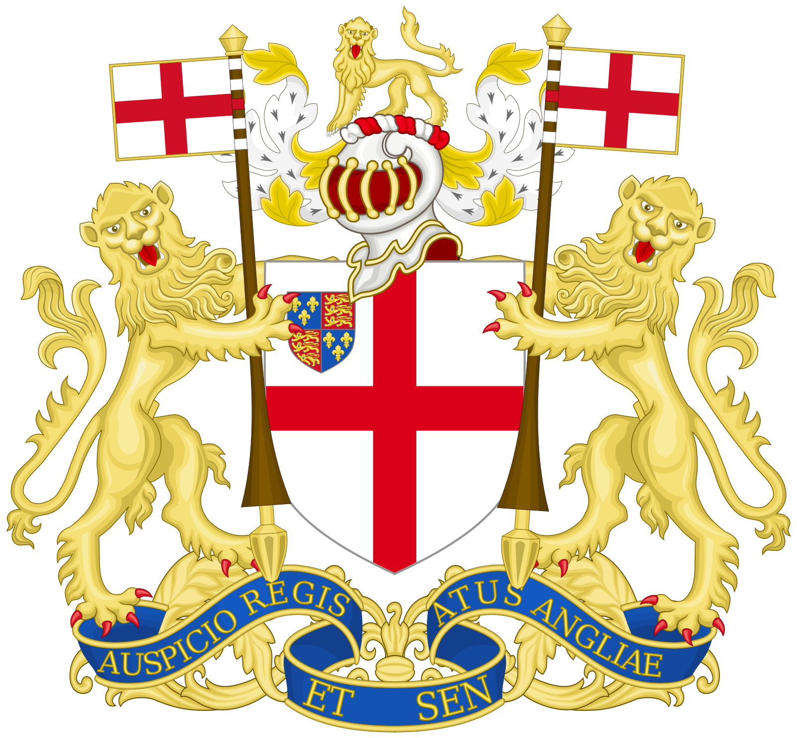 Coat of arms of the East India Company