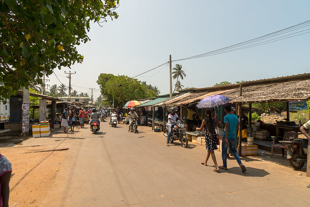 Straßenmarkt Wennapuwa