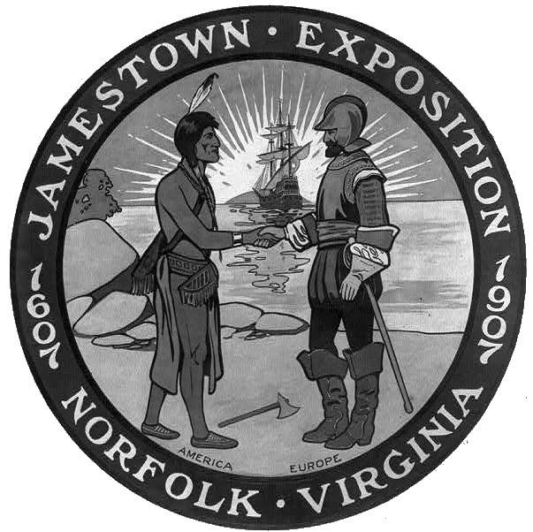 Jamestown Exposition logo 1907