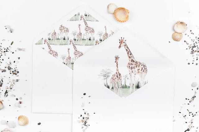 Invitaciones acuarela safari Micrapelbodas 4