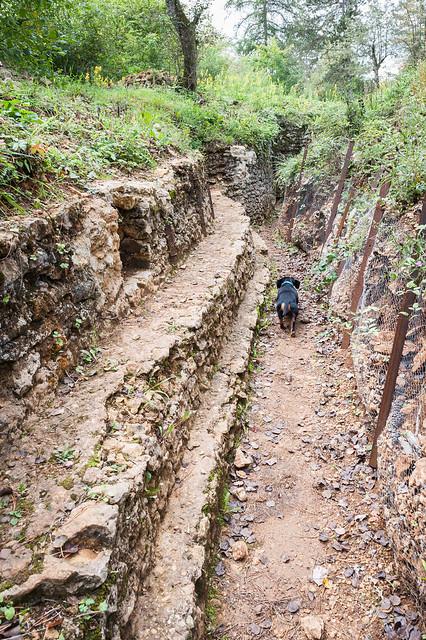 German trenches, Verdun, France
