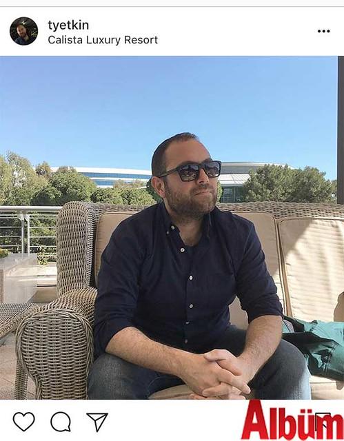 Tahsin Yetkin, Calista Luxury Resort'ta keyifli bir gün geçirdi.