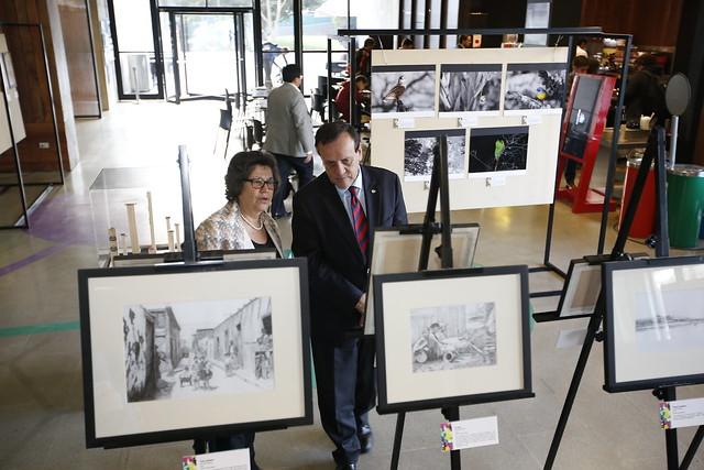 Ceremonia y exposición, Concurso Artifica la UC 2017