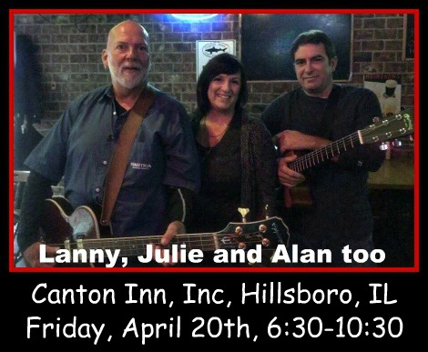 Lanny, Julie and Alan too 4-20-18