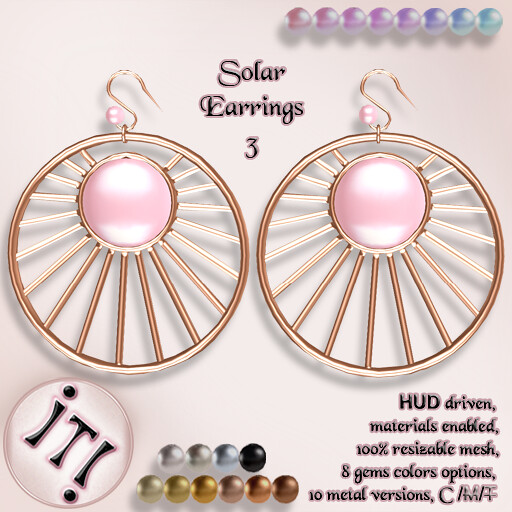 !IT! - Solar Earrings 3 Image - TeleportHub.com Live!