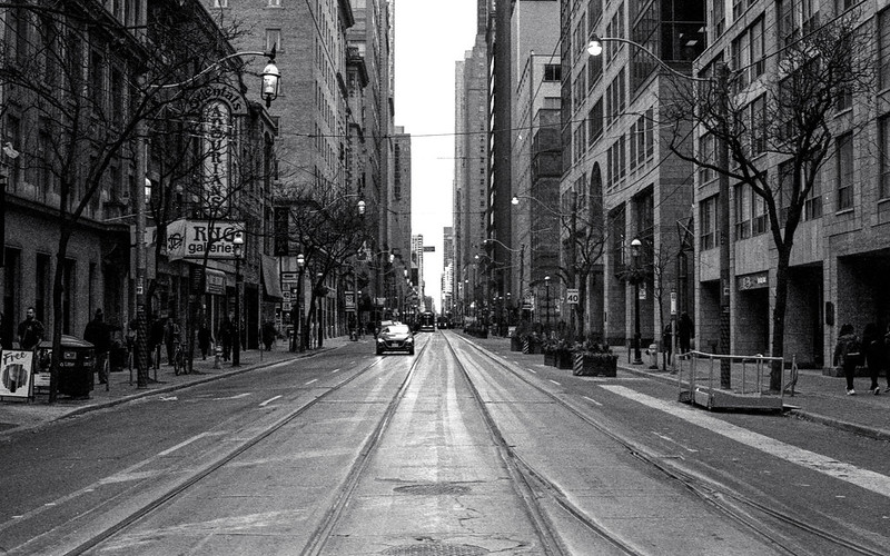 King St. East of Yonge St