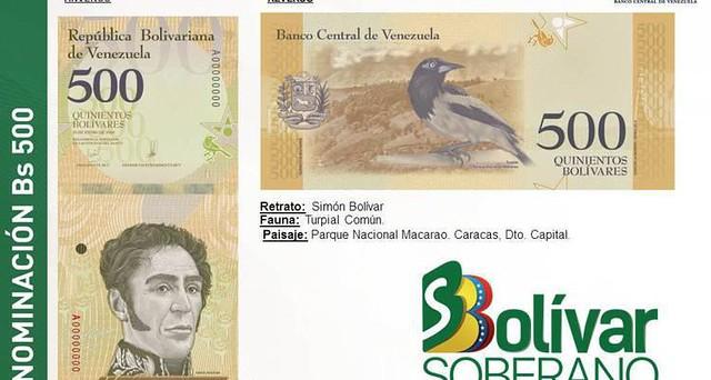 Venezuela elimina três zeros do valor da moeda